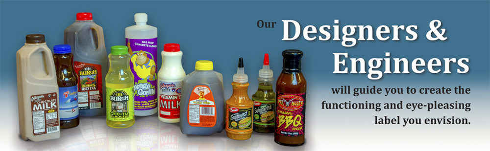 Our designs and engineers will help you to create the custom labels and custom poly bags you envision.