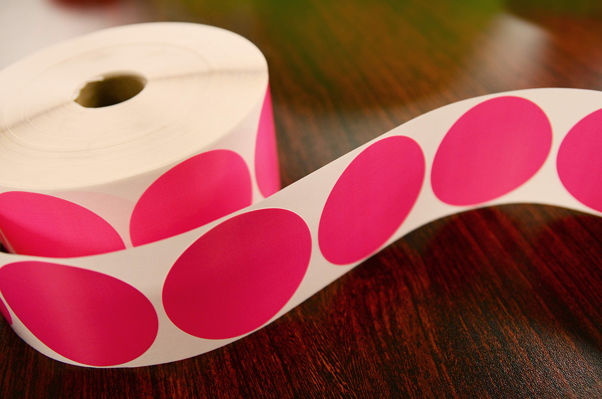 Pink Inventory Labels