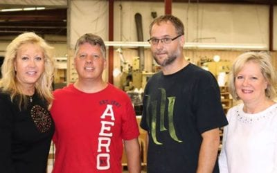 Employees Celebrate 25 years with Alpine Packaging!