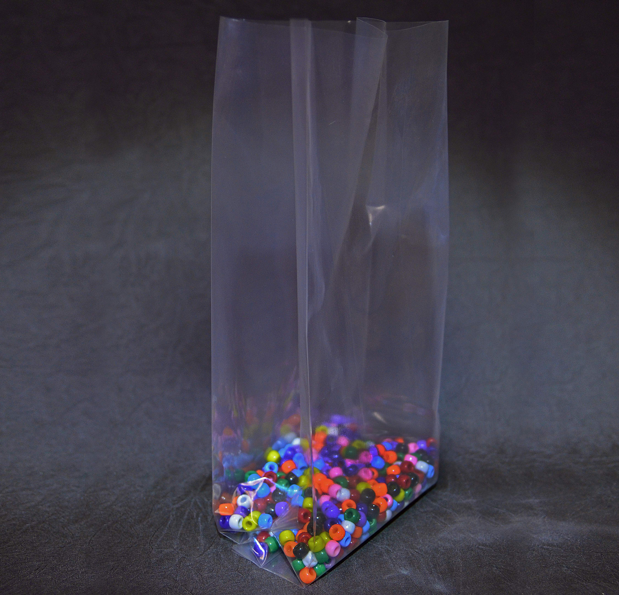 Gusseted Poly Bags Pleated Plastic Bags Alpine Packaging