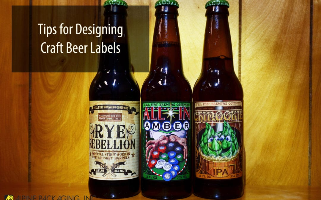 Tips for Designing Craft Beer Labels