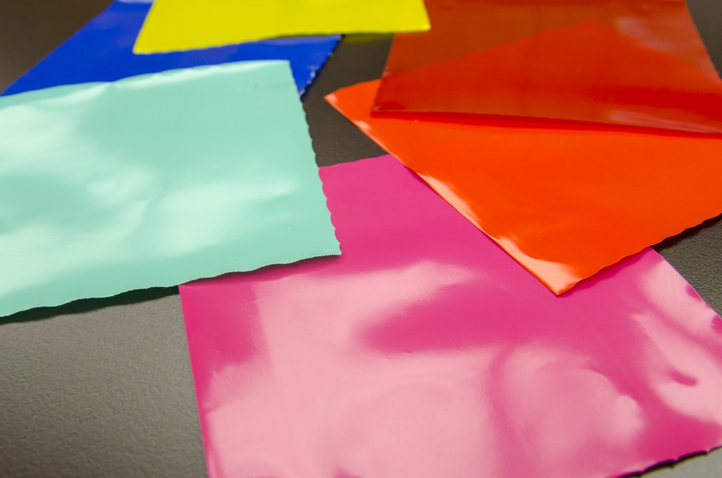colored poly film