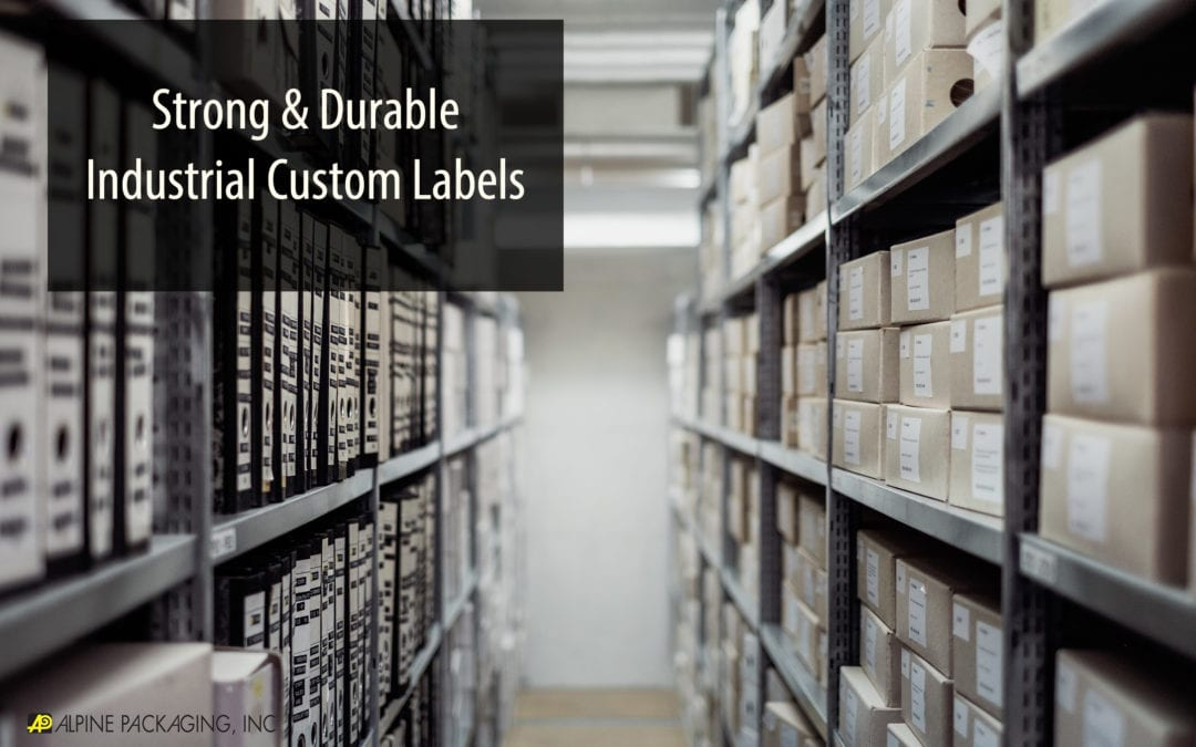 Strong & Durable Industrial Custom Labels