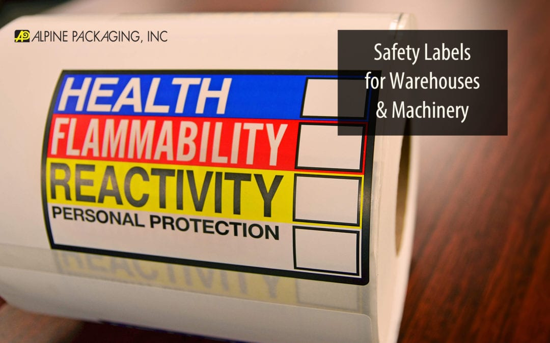 Safety Labels for Warehouses and Machinery