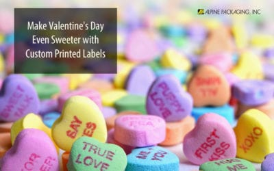 Valentine's Day Labels Make Products Sweeter
