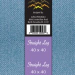 alpine jeans clothing labels