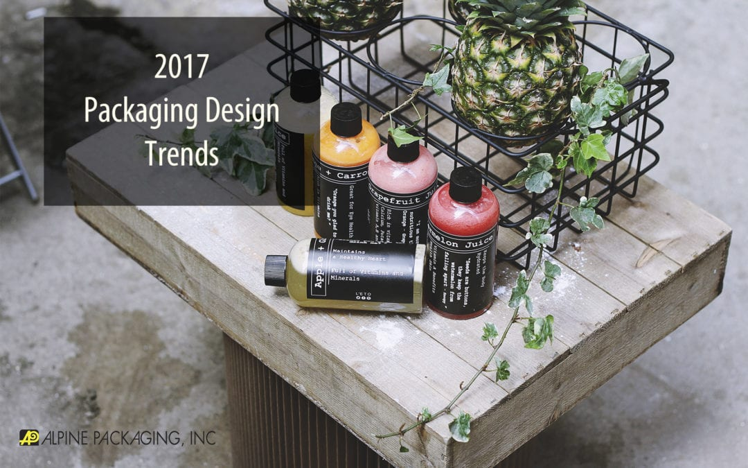 2017 Packaging Design Trends