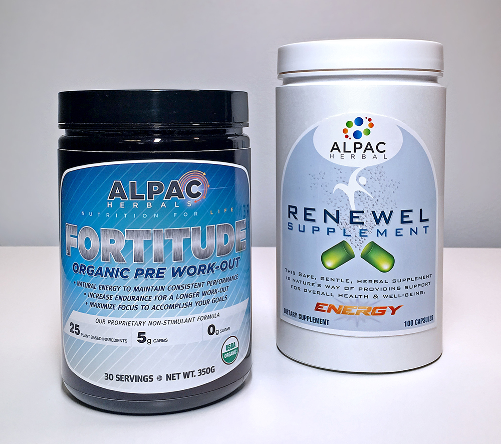 alpine packaging nutraceutical label
