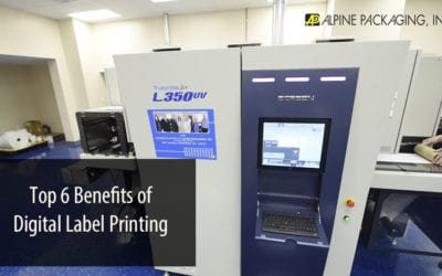 Top 6 Benefits of Digital Label Printing