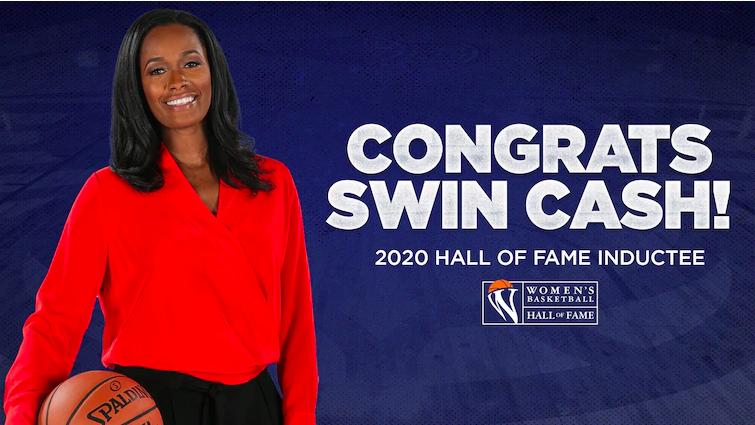 Alpine Congratulates Swin Cash, 2020 Hall of Fame Inductee