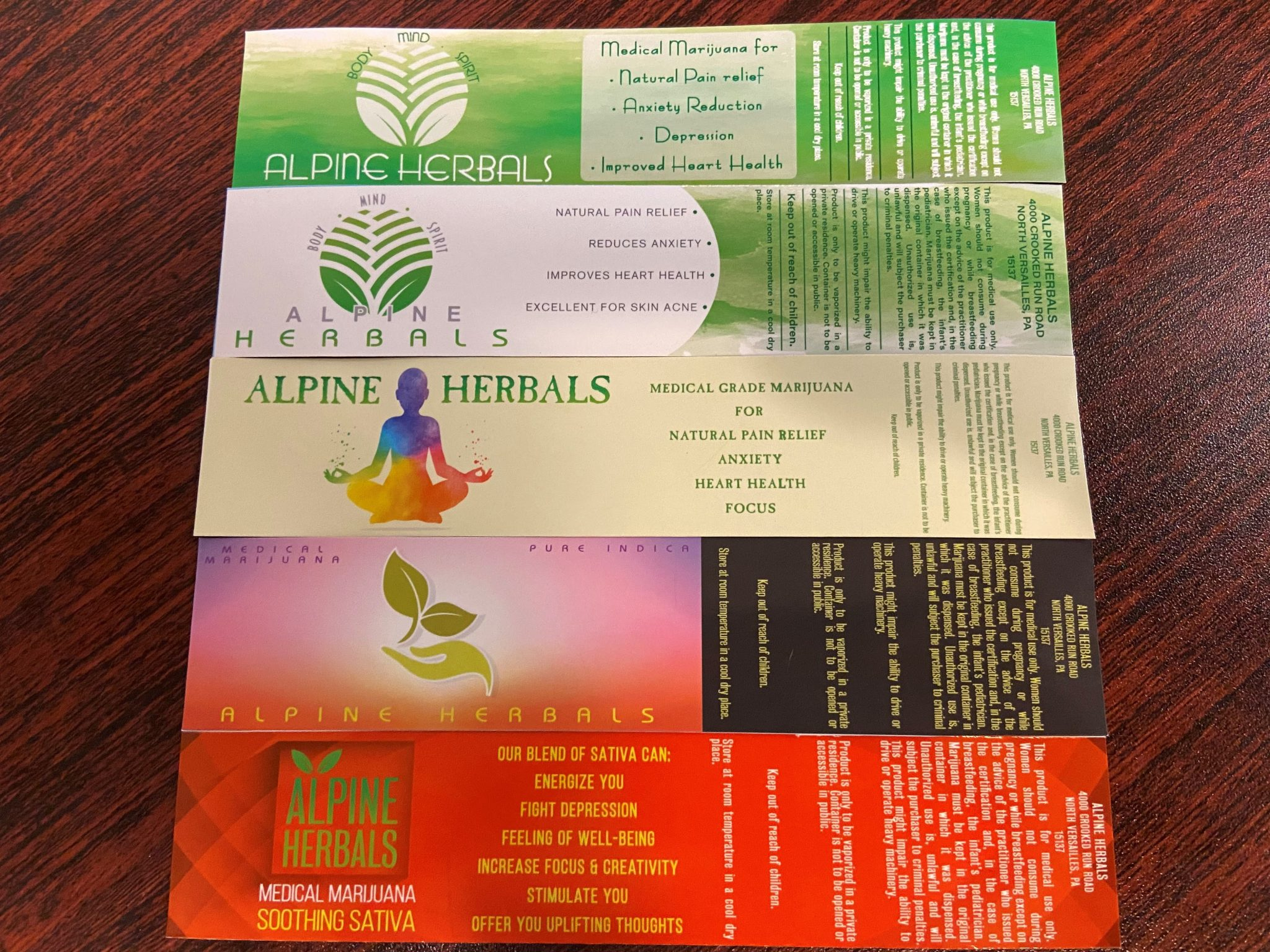 CBD Labels