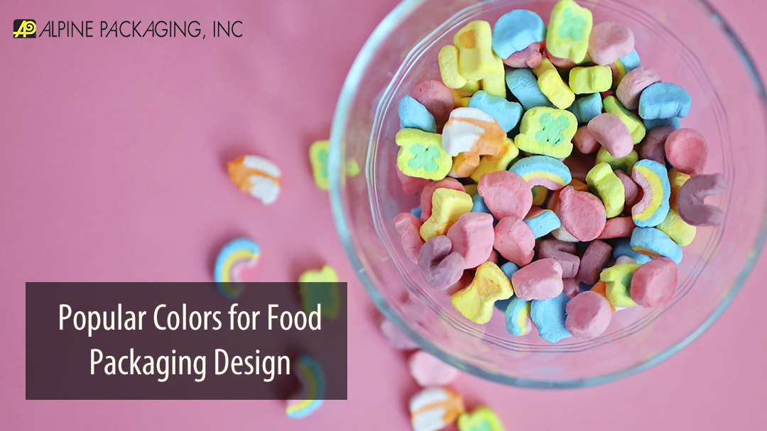 Popular Colors for Food Packaging Design
