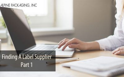 Finding A Label Supplier – Part 1