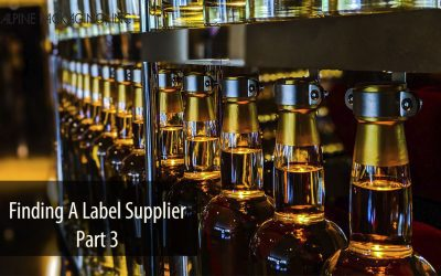 Finding A Label Supplier – Part 3